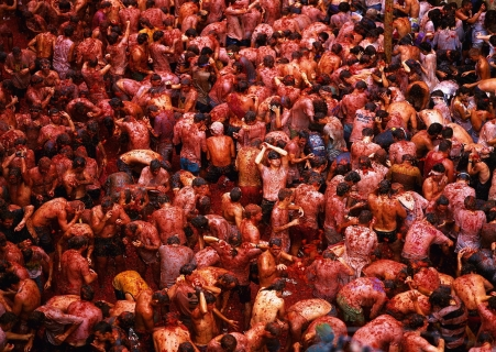 La Tomatina is a spectacle you don't want to miss