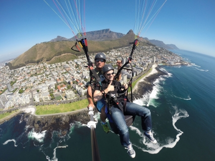 Paraglide at Western Cape