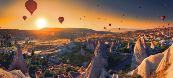 Balloon in Cappadocia, Turkey