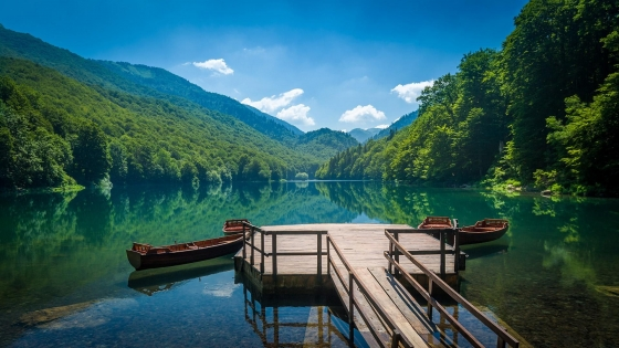Biogradska Gora National Park, one of the oldest protected natural areas in the world