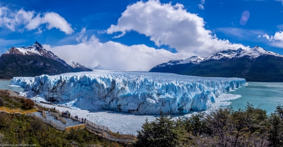 Glacier walk on The Perito Moreno glacier