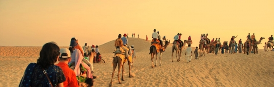 Sleeping under the stars and riding camels in Rajasthan