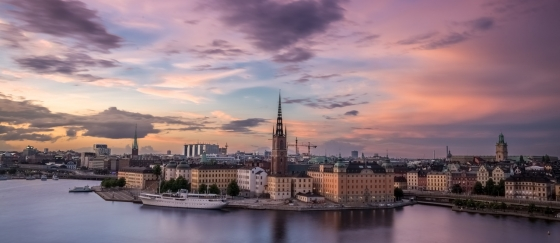 Stockholm is one of the most beautiful cities in the world