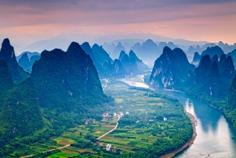 The Li River is the most beautiful place in the world