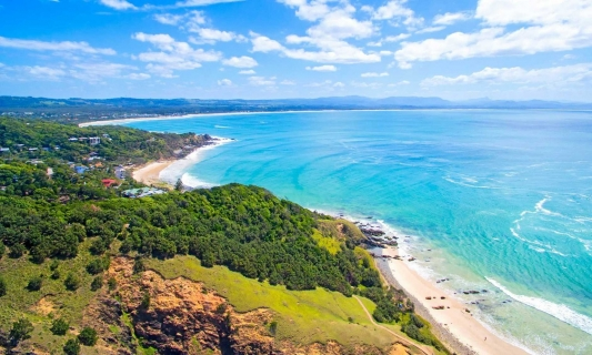 The most relaxed and alternative area of Australia is called the Byron Shire