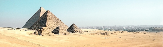 The Pyramids of Giza are impressive and absolutely worth a visit