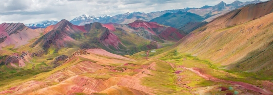 Visit the Rainbow Mountains